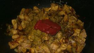 myaso v syirnom souse7 Мясо в сырном соусе (в мультиварке)