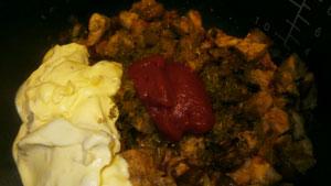 myaso v syirnom souse8 Мясо в сырном соусе (в мультиварке)