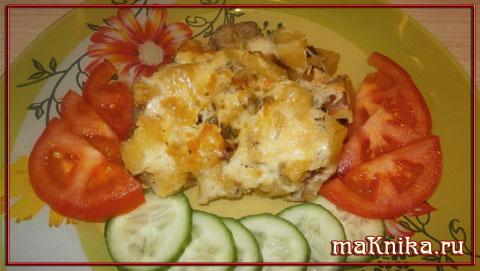 frikadelki s kartoshkoy v d Фрикадельки с картошкой в духовке