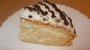 торт с кокосовой стружкой рецепт