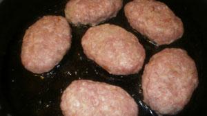 котлеты мясные из фарша рецепт
