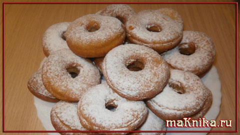 пончики рецепт