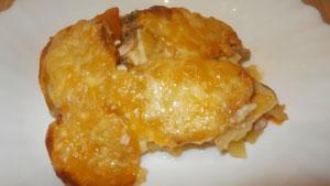 рыба с картошкой