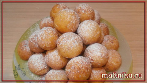 tvorozhnyie ponchiki1 Творожные пончики