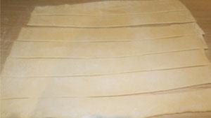 слоёные булочки с бананом