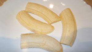 рогалики с бананом