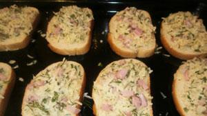 горячий бутерброд фото