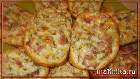 бутерброд с сыром горячий