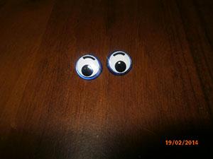 как сделать глазки для игрушек
