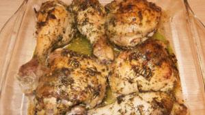 куриные окорока в духовке рецепт