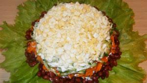 рецепт вкусного салата с фасолью