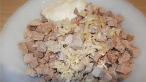 салат генерал рецепт с фото