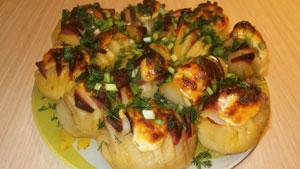 картофель запечённый в духовке рецепт
