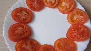 закуска из яиц и помидоров