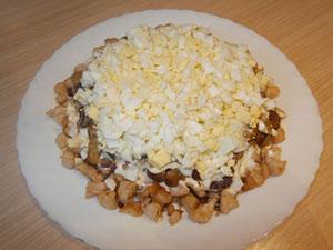 курица грибы жареные сыр