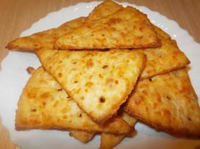 крекер сырный рецепт