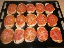 фото пицца из батона