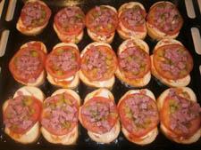 пицца из батона в духовке